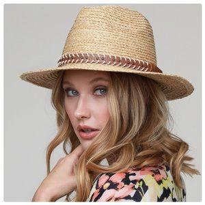 Classic Crown Folded Raffia Panama Hat